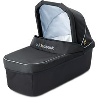 Out 'n' About Nipper Single Carrycot-Raven Black - Black Gifts