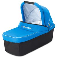 Out 'n' About Nipper Single Carrycot-Lagoon Blue - Lime Green Gifts