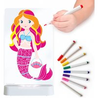 Aloka Colour And Shine Children's Night Light-Mermaid