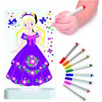 Aloka Colour And Shine Children's Night Light-Princess