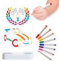 Aloka Colour And Shine Children's Night Light-Race Car
