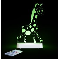 Aloka Multi Coloured Children's Night Light-Giraffe