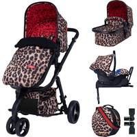 Cosatto Paloma Giggle 3 Whole 9 Yards Isofix Travel System-Hear Us Roar