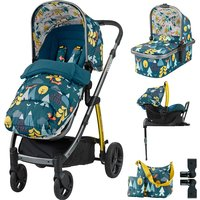 Cosatto Wow 3in1 Whole 9 Yards Travel System with Port 0+ Car Seat-Fox Tale - Port Gifts
