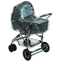 Carry Cot Raincover for the Chicco Cortina and other carry cots