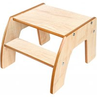 Little Helper FunStep Toddler & Child Safety Step Stool-Maple - Toddler Gifts