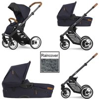 Mutsy Evo Urban Nomad 3in1 Dark Grey Chassis-Deep Navy