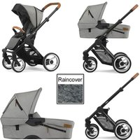 Mutsy Evo Urban Nomad 3in1 Black Chassis-Light Grey
