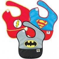 Bumkins Super Bib 3 Pack DC Comics Super Friends-Batman/Superman/The Flash - Comics Gifts
