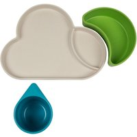 Tum Tum Eco Cloud Bamboo Dining Gift Set-Blue/Green - Dining Gifts