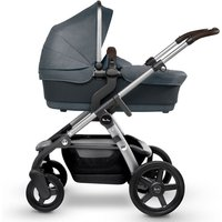 Silver Cross Wave Pram System and FREE Matching Simplicity Car Seat-Slate