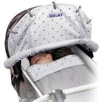 Dooky Universal Sunshade-Grey Crowns