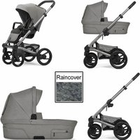 Mutsy Nio North 3in1 Warm Grey Chassis-Stormy Weather - Warm Gifts