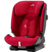 Britax Advansafix IV R Group 1/2/3 Car Seat-Fire Red
