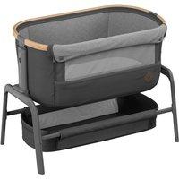 Maxi-Cosi Iora Co-Sleeper Crib-Essential Graphite + 2 Free Organic Fitted Sheets