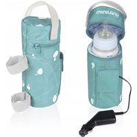 Miniland Warmy Travel Bottle Warmer-Aqua - Travel Gifts