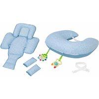 ClevaMama ClevaCushion 10in1 Nursing Pillow-Blue - Nursing Gifts