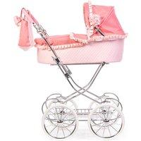 Roma Annie Classic Dolls Pram-Pink