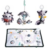 Tiny Love Black & White Super Mat With Mini Mobile & Toys-Magical Tales (NEW 2019) - Mobile Gifts