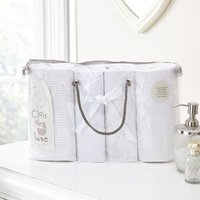 Clair De Lune 4 Piece Bale Bedding Set-White - Bedding Gifts