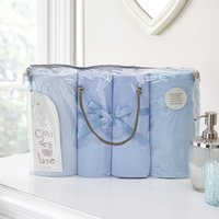 Clair De Lune 4 Piece Bale Bedding Set-Blue - Bedding Gifts