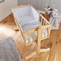 Clair De Lune 2pc Crib Quilt & Bumper Bedding Set- Grey - Bedding Gifts
