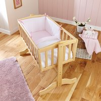Clair De Lune 2pc Crib Quilt & Bumper Bedding Set- Pink - Bedding Gifts