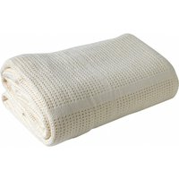 Clair De Lune Cellular Pram Blanket- Cream - Blanket Gifts