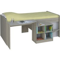 Kidsaw Loft Station Pilot Cabin Bed-Elm - Furniture Gifts