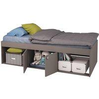 'Kidsaw Low Single Cabin Bed-grey
