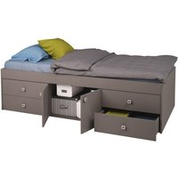Kidsaw Captains Single Cabin Bed-Grey