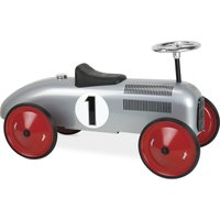 Vilac Classic Ride On Metal Car- Grey - Ride On Gifts