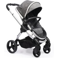 iCandy Peach Satin Stroller + Maxi Cosi Cabriofix 0+ Car Seat -Dark Grey Check (New 2020)
