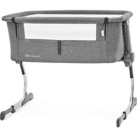 Kinderkraft UNO Bedside Travel Baby Cot-Grey - Travel Gifts