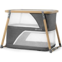 Kinderkraft Sofi Bedside Travel Baby Cot with Playpen Function-Gray - Travel Gifts