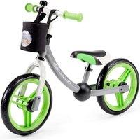 Kinderkraft 2Way Next Balance Bike with Accessories-Green/Gray - Bike Gifts