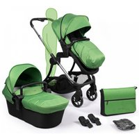 iCandy Lime Plus Stroller-Chrome/Lime (New) - Chrome Gifts