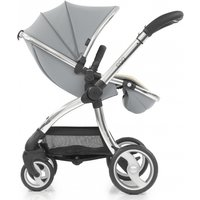 egg® Mirror Finish Exclusive Stroller-Frosted Steel - Mirror Gifts