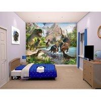 Walltastic Wall Mural-Dinosaur Land