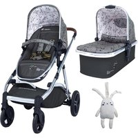 Cosatto Wow XL 3in1 Pram and Pushchair-Hedgerow