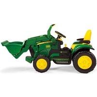 Peg Perego John Deere Ground Loader Ride On Digger- Green - Ride On Gifts