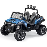 Peg Perego Polaris Ranger RZR 900 Electric Ride On Buggy- Blue - Ride On Gifts