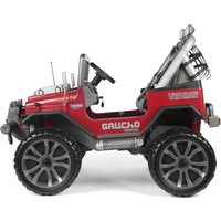 Peg Perego Gaucho Grande Electric Ride On Jeep- Red - Ride On Gifts