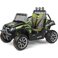 Peg Perego Polaris Ranger RZR Electric Ride On Buggy- Green Shadow - Ride On Gifts