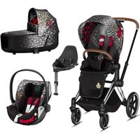 Cybex Priam Rebellious Edition Chrome Chassis 3in1 Travel System (New 2020)