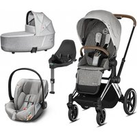 Cybex Priam Koi Edition Chrome Chassis 3in1 Travel System (New 2020)
