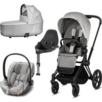 Cybex Priam Koi Edition Black Chassis 3in1 Travel System (New 2020)