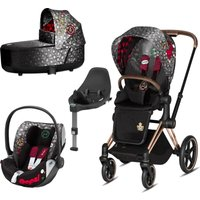 Cybex Priam Rebellious Edition Rose Gold Chassis 3in1 Travel System (New 2020)