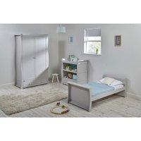 East Coast Nebraska Toddler Bed 3 Piece Room set-Grey - Toddler Gifts