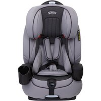 Graco Nautilus Group 1/2/3 Car Seat-Steeple Gray